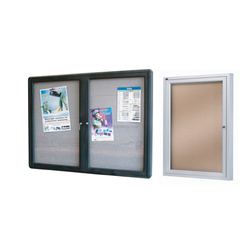 Enclosed Pinboards