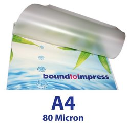 A4 Laminating Pouches - 80 Micron (Pkt 100)