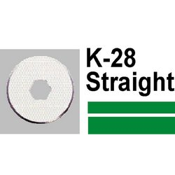 Carl K28 Straight Blade (2 Pieces)