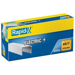 Rapid 66/7 7mm Staples Box 5000