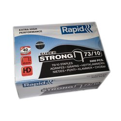 Rapid 73/10 10mm Staples Box 5000